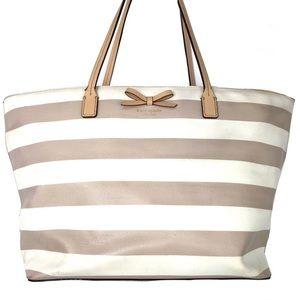 Kate Spade Margarita Sawyer Street Large Tote Bag